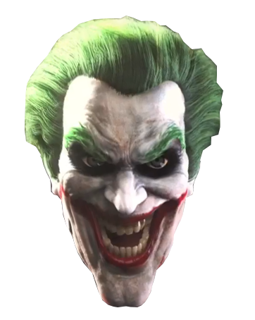 Joker face png. Image injustice cut out