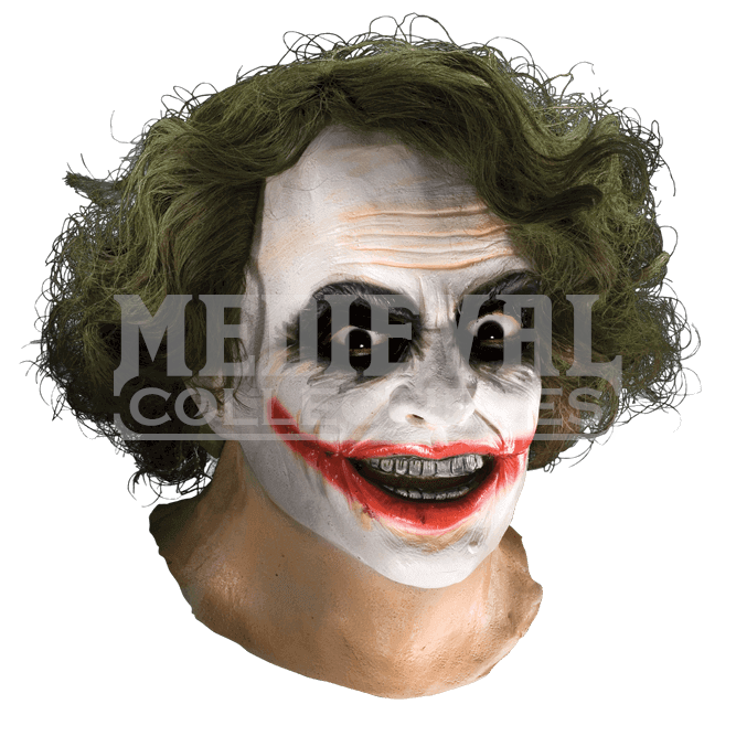 Joker hair png. Adult full mask with