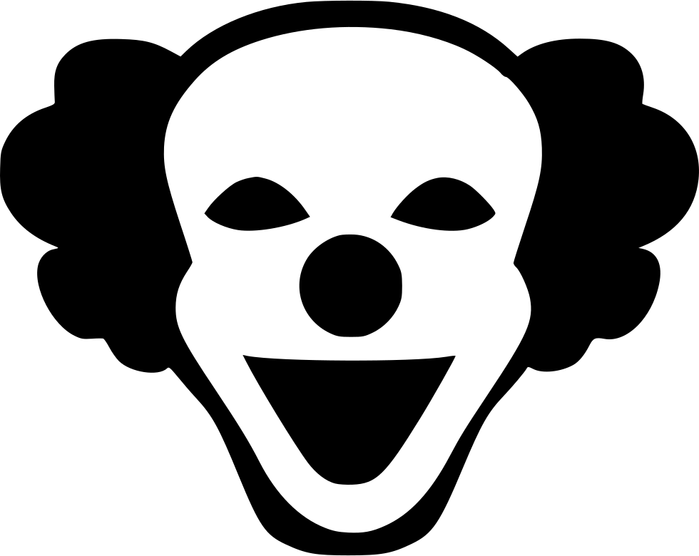 Joker smile png. Mask hero svg icon