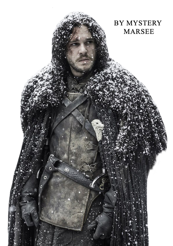 Jon snow png. By mystery marsee on