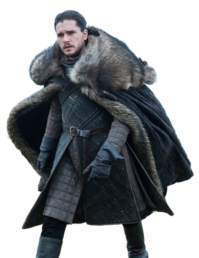 Jon snow png. Render by kanzl on