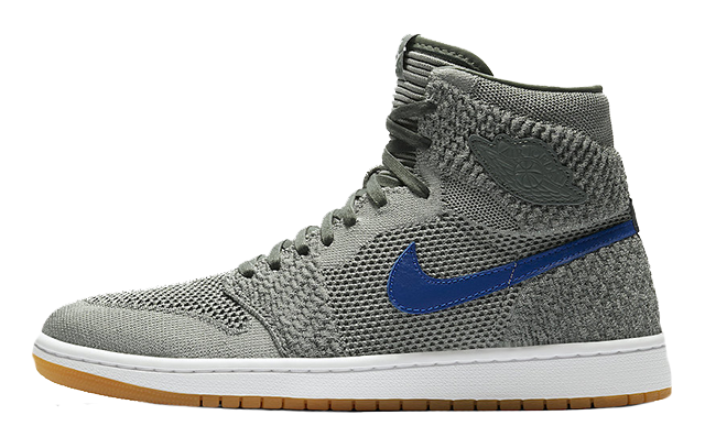 Jordan 1 png. Flyknit clay green the