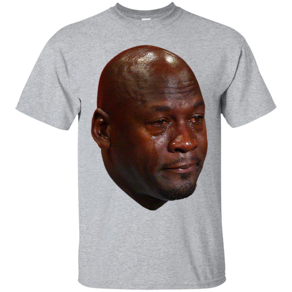 Jordan crying png. T shirt tshirt