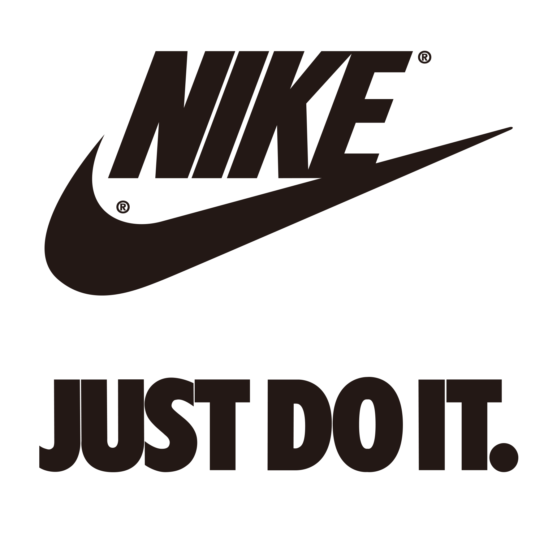 Nike just do it logo png. Free air force shoe