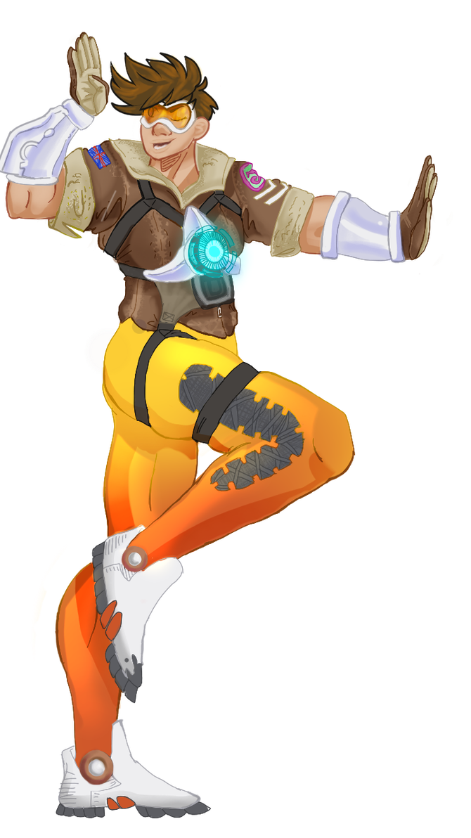 Joseph joestar oh my god png. Tracer by saiyanpelt and