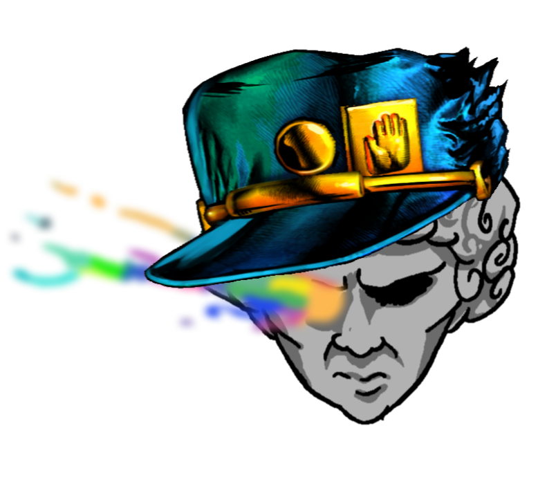 Jotaro hat png. Siivagunner by rockylalonde on