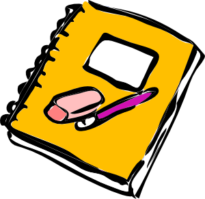 Journal clipart english journal.