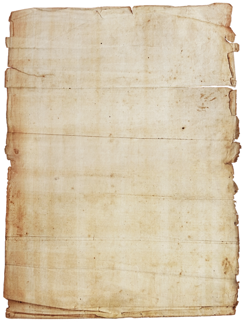 Old note paper png. Stock by ftourini on
