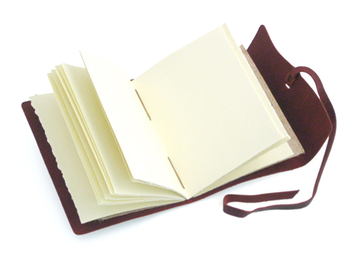notebook transparent journal