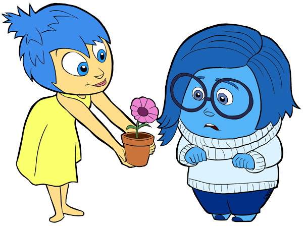 Sadness clipart. Inside out clip art