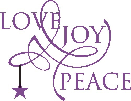 Joy clipart live. A holiday message for