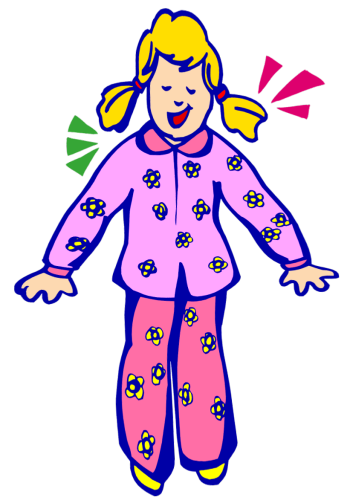 Pajama clipart night clothes. Free pajamas cliparts download