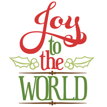 joy to the world png