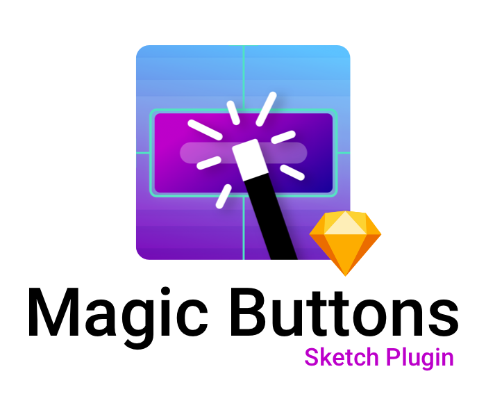 Jpg gif png buttons normal and pressed. Magic sketch plugin first