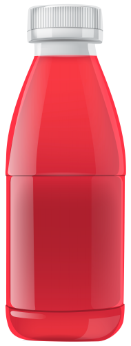 Juice clipart juice container. Red bottle png food