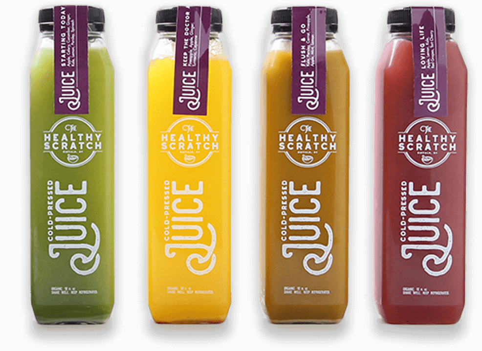 Juice vector cold pressed. Home the healthy scratch