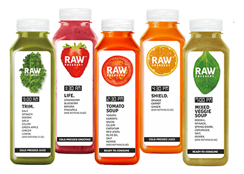Juice vector cold pressed. Fresh juices delivery online