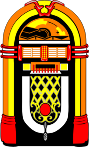 jukebox clipart vector