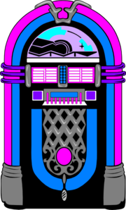 vector record jukebox