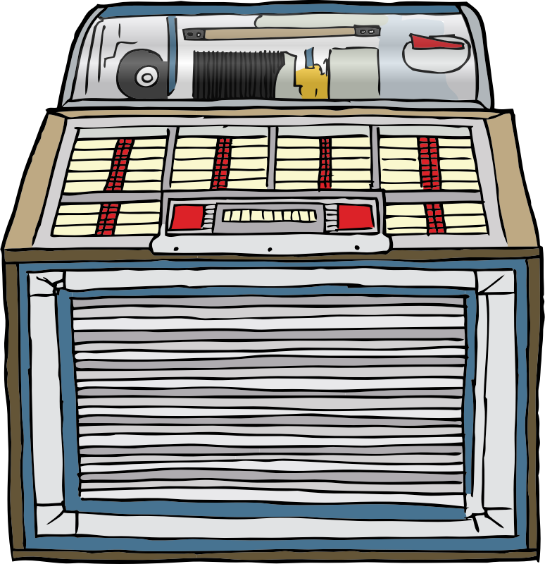 Jukebox clipart throwback. You picked a fine