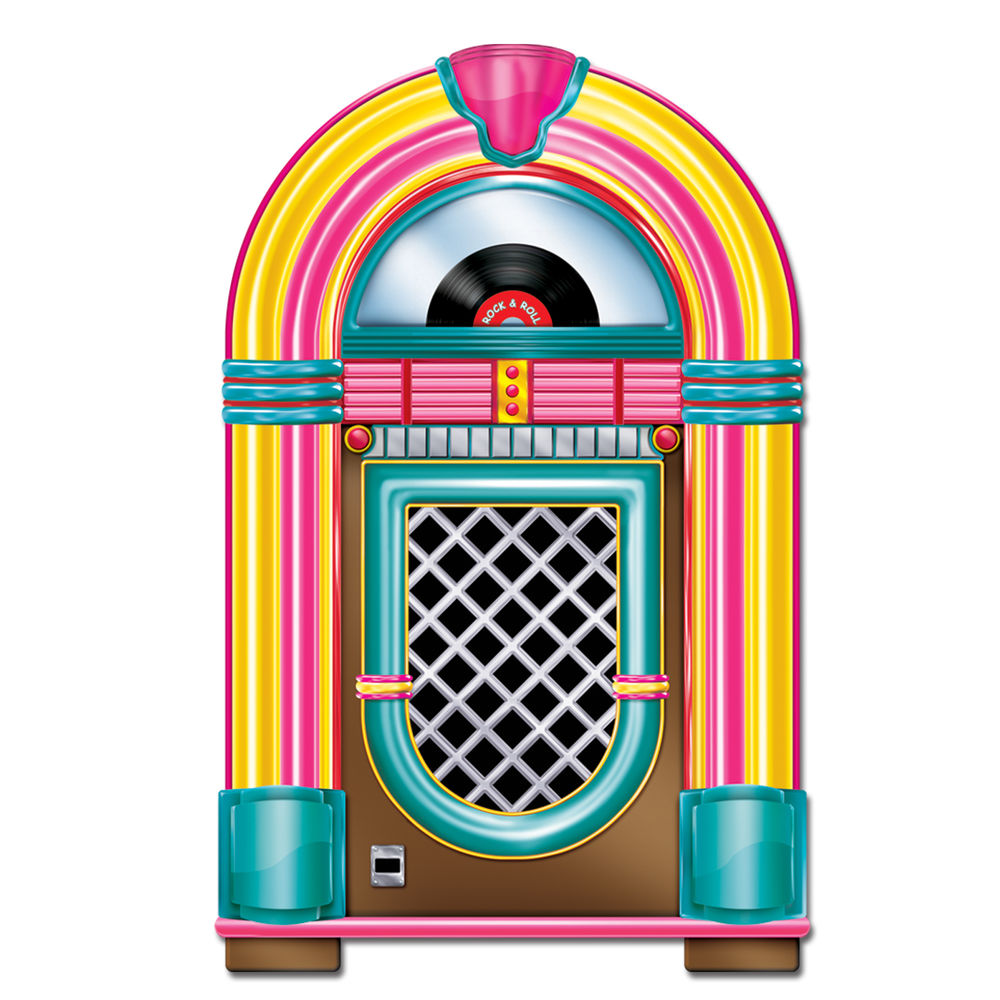 Jukebox clipart vector. Patio party the rec