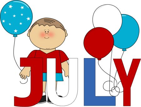 July clipart. Best th of