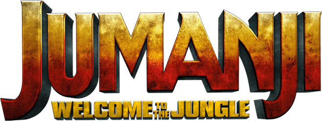Jumanji welcome to the jungle logo png. Movie official site sony