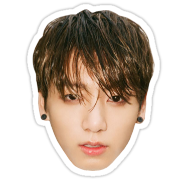 Avatan plus kpop bts. Jungkook face png clipart library