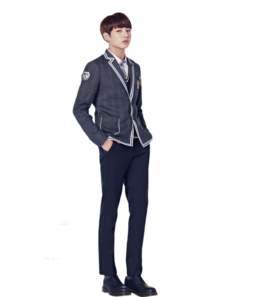 Jungkook full body png. Bts render by hikarikida