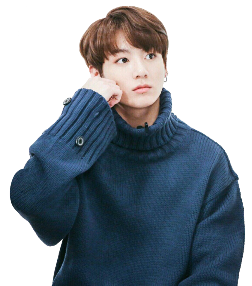Transparent jungkook blue. Png by kpoperatroxa on