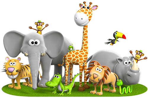Jungle animals png. Animal hd for kids