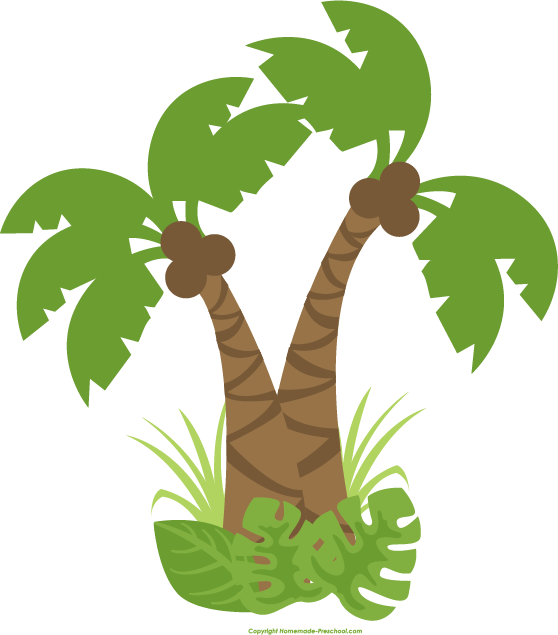 Scary clipart jungle. Tree