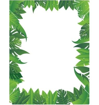 Jungle clipart jungle foliage. Winsome design leaves nice