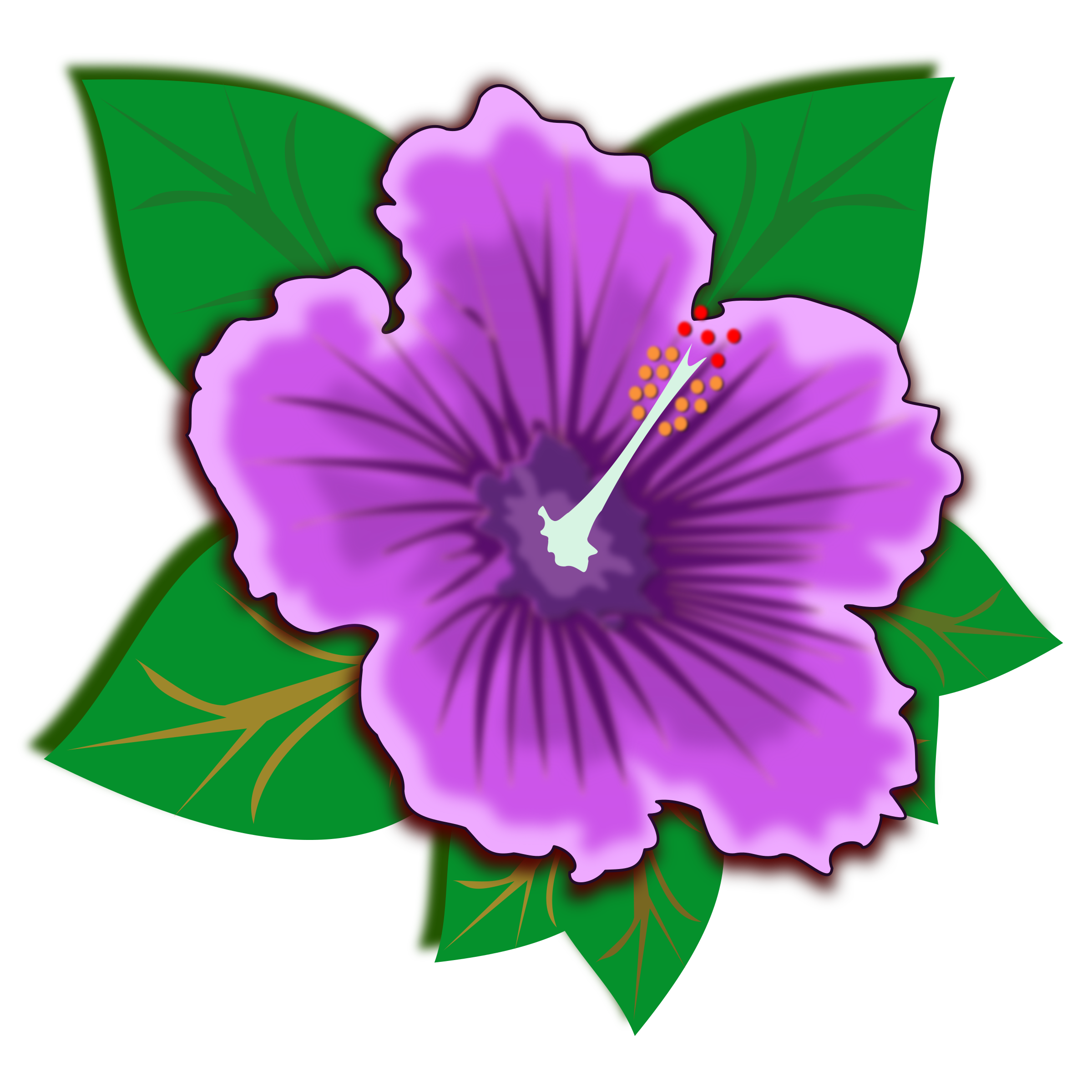 Jungle flower png. Plants clipart at getdrawings