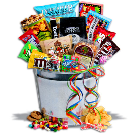 Junk clipart auction basket. Deluxe food gift