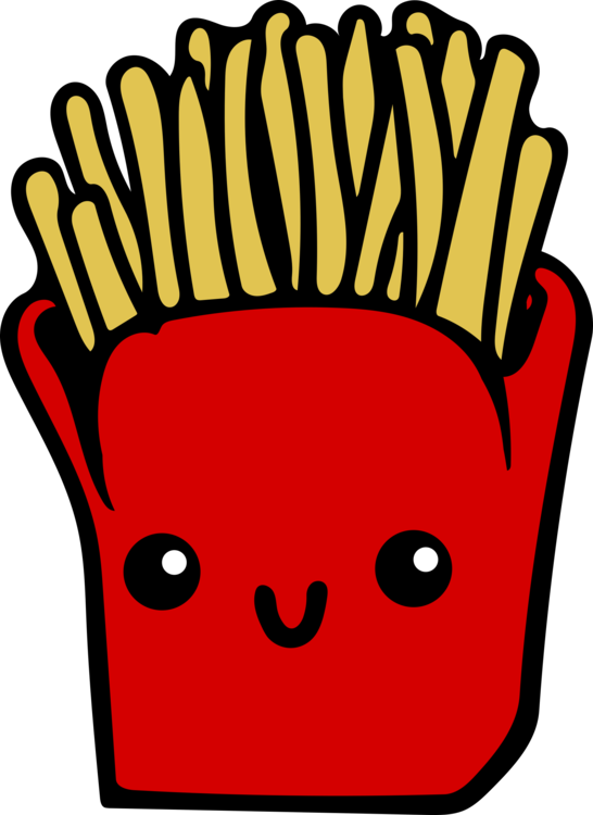 Chip clipart junk food. French fries fast cartoon