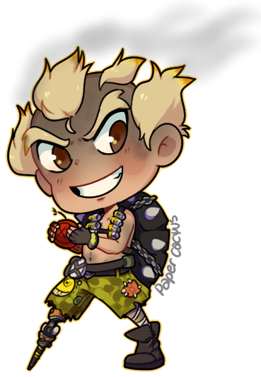 Junkrat 1280x720 png. Overwatch clipart at getdrawings