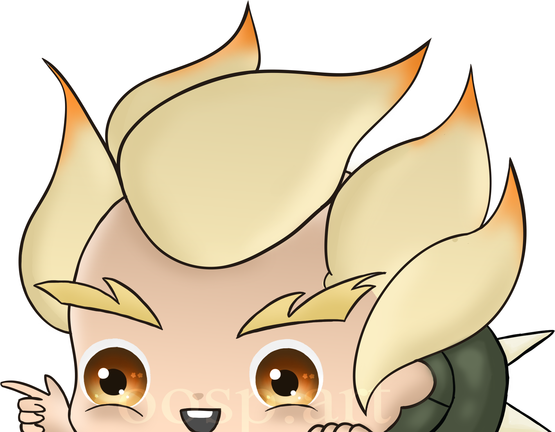 Junkrat cute png. Peeking decal pre order
