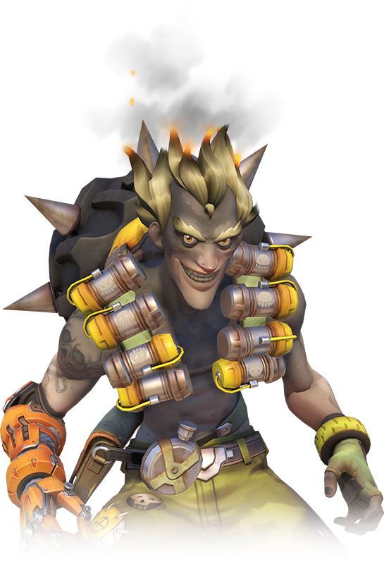 Transparent junkrat lounging