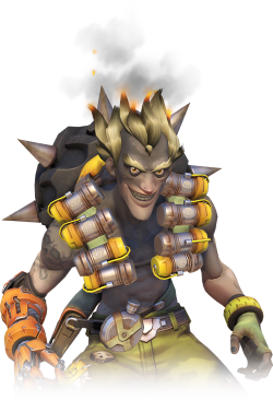 Junkrat 1280x720 png. Overwatch damage j to