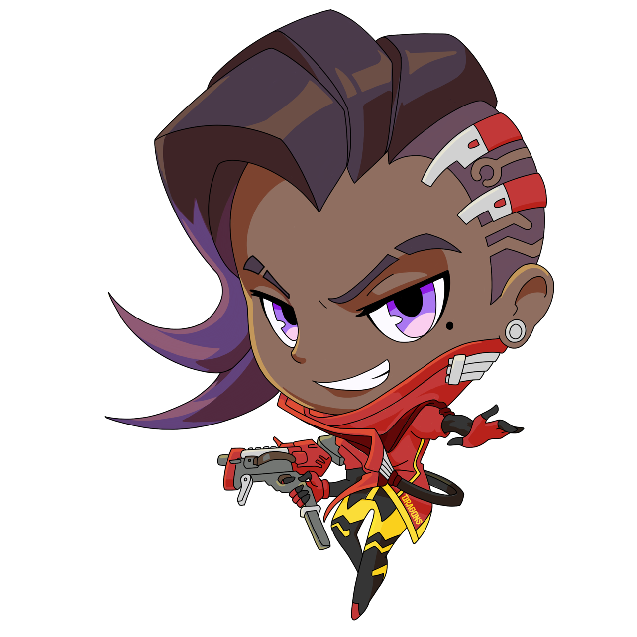 Overwatch sprays tumblr league. Junkrat cute png png library