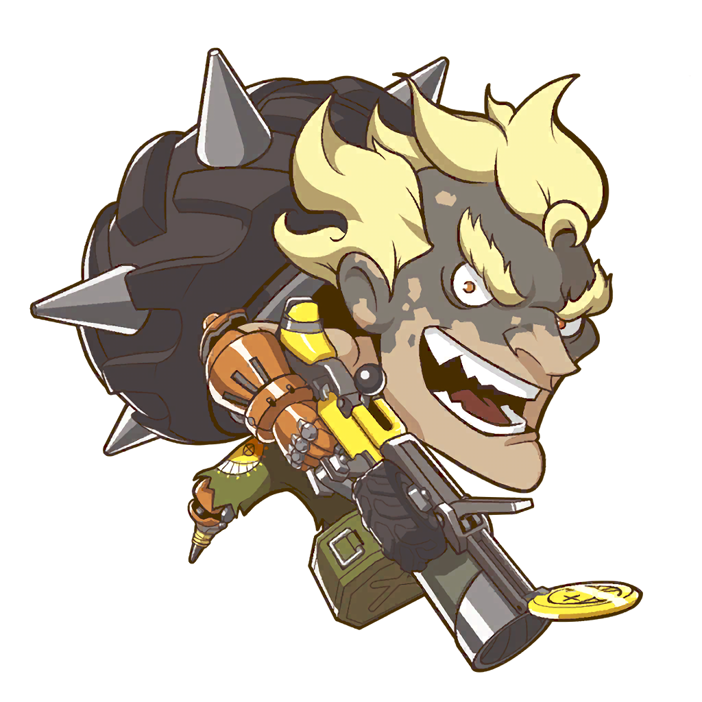 Junkrat cute spray png. Image overwatch wiki fandom