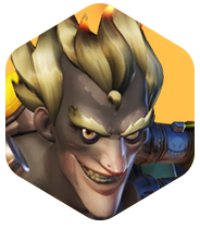 Junkrat icon png. Overwatch face image