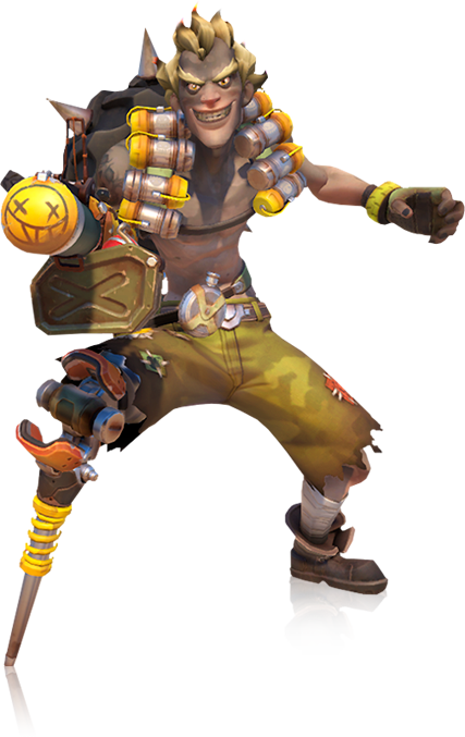 transparent junkrat sub