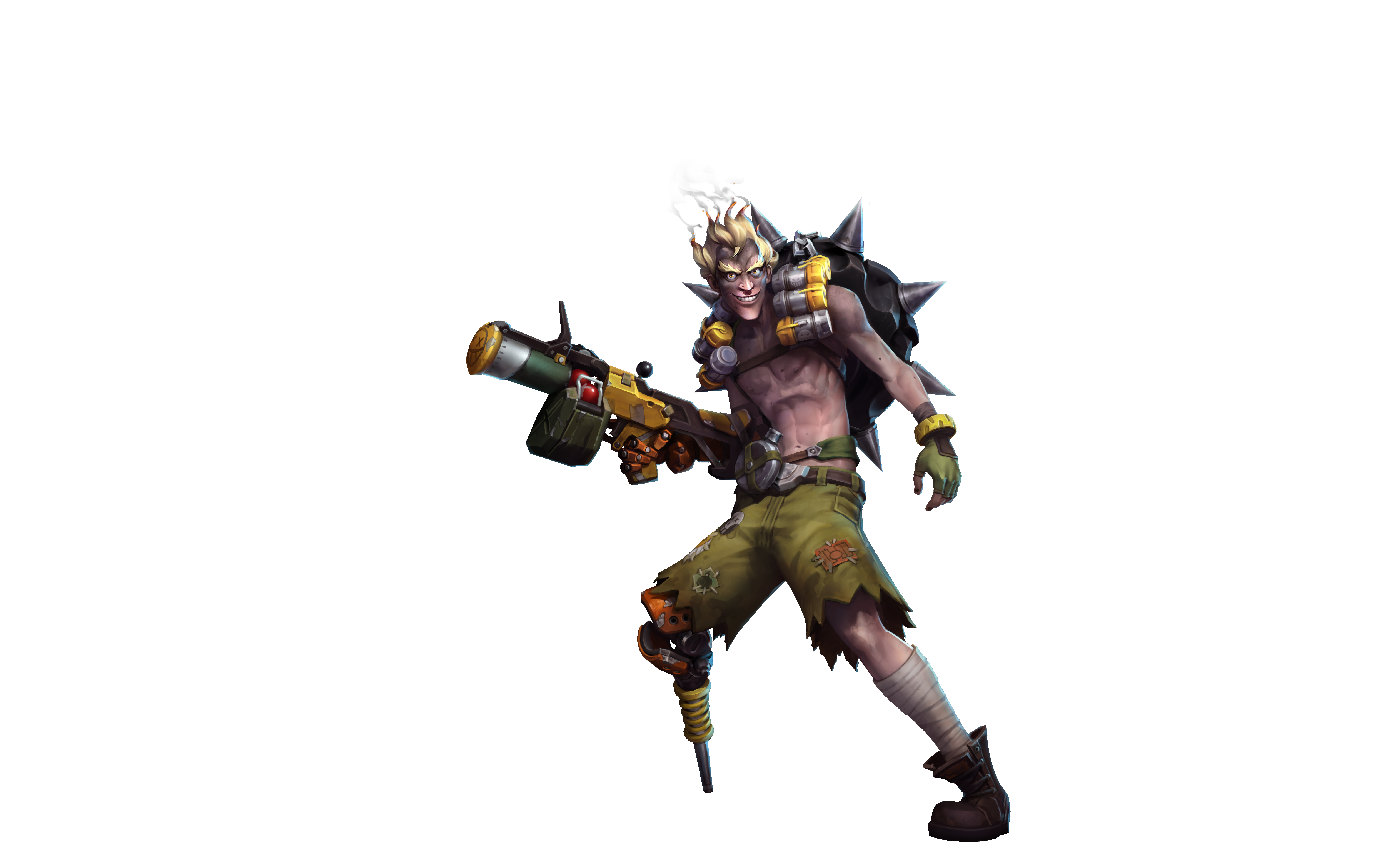 Junkrat png. Blizzard press center and