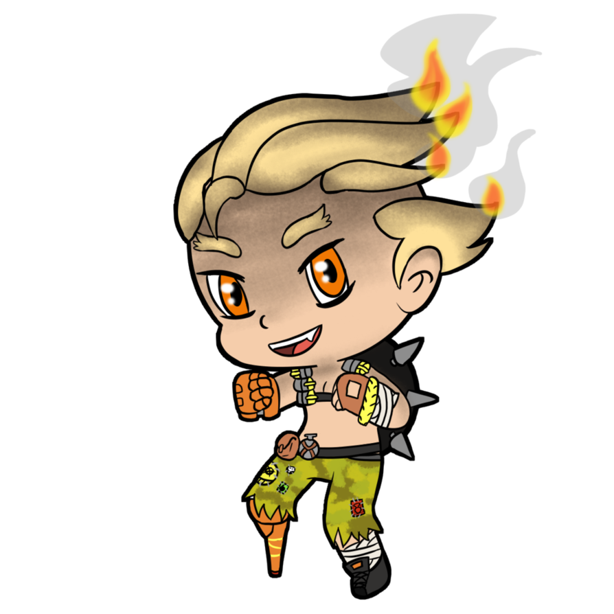 transparent junkrat drawing