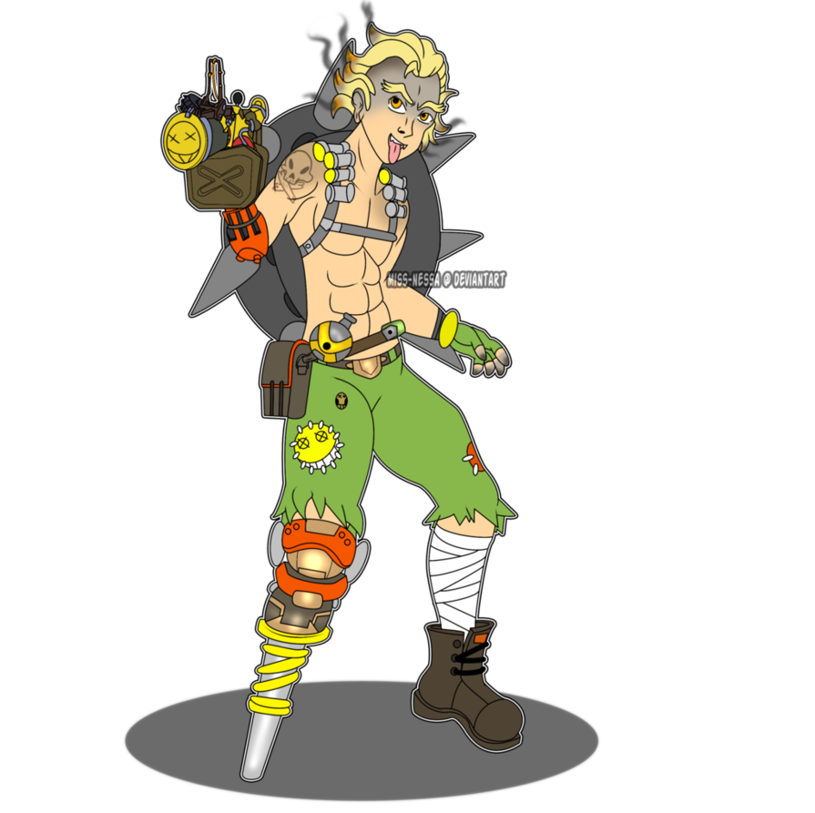 Junkrat poses png. By miss nessa on