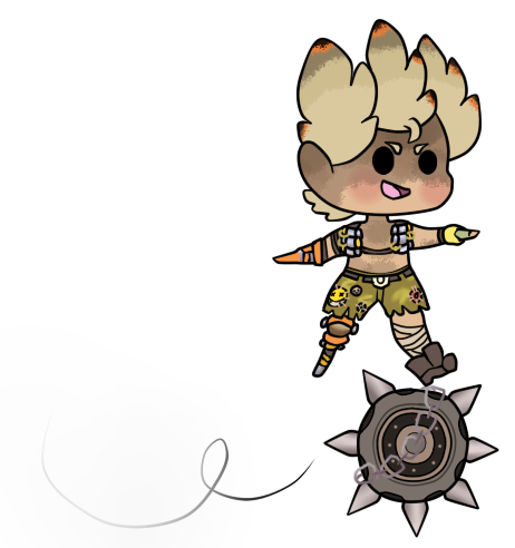 Junkrat ripetire png. Rip tire by cosmic