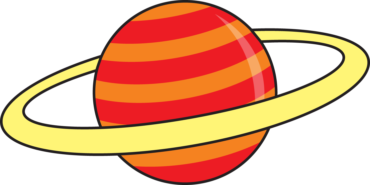 mars clipart yellow planet