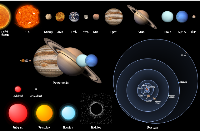 Planets clipart red planet. Stars and sun mercury